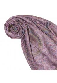 Pashmina Paisley violett lila rot LORENZO CANA