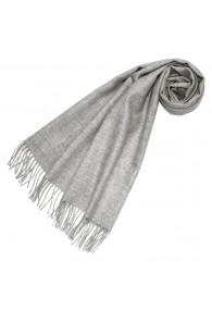 Schal für Frauen Hellgrau Alpakawolle LORENZO CANA