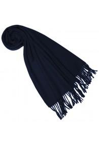 Schal für Frauen Marine Blau Alpakawolle LORENZO CANA