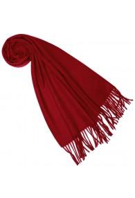 Schal für Männer Feurig Rot Alpakawolle LORENZO CANA