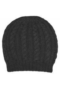 Mütze 100% Alpakawolle Notting Hill Grau LORENZO CANA