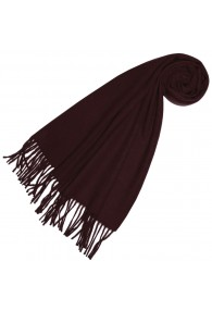 Schal für Frauen Burgund Alpakawolle LORENZO CANA