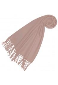 Schal für Männer rosé Alpakawolle LORENZO CANA