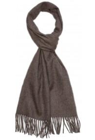 Schal für Männer Cremebraun Alpakawolle LORENZO CANA