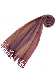 Schal für Männer Rosa Orange Alpakawolle LORENZO CANA