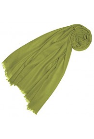 Kaschmir Herrenschal grün LORENZO CANA