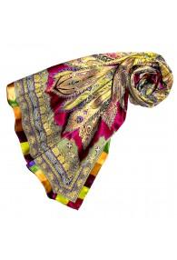 Tuch für Damen mehrfarbig Seide Floral LORENZO CANA