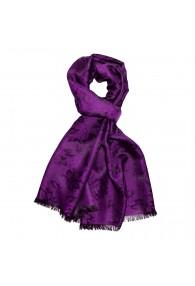 Schaltuch Paisley violett LORENZO CANA