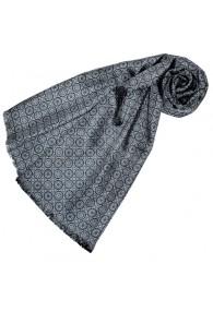 Wendeschal Seide + Wolle für Damen Grau LORENZO CANA
