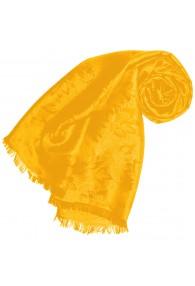 Gelber Schal für Herren Paisley LORENZO CANA