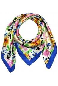 Tuch aus Seide mehrfarbig Floral LORENZO CANA