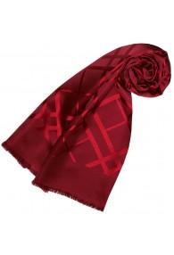 Schal Seide Rot