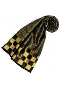 Goldener schal aus Seide für Damen LORENZO CANA