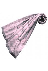 XXL Schal für Frauen Rosa Baumwolle LORENZO CANA
