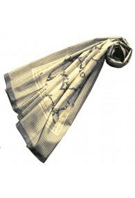 XXL Schal für Frauen Gelb Baumwolle LORENZO CANA