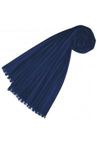 Halstuch für Frauen Blaue Baumwolle LORENZO CANA