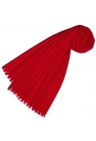 Halstuch für Frauen rot Baumwolle LORENZO CANA