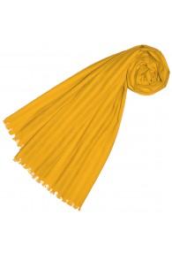Halstuch für Frauen gelb Baumwolle LORENZO CANA