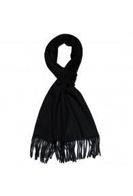 Schal für Herren Polyacryl schwarz LORENZO CANA