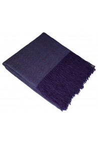 Sofadecke 100% Alpaka Violett LORENZO CANA