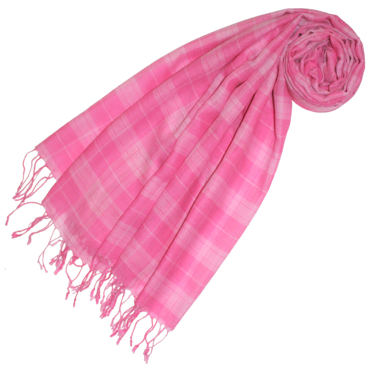 LORENZO CANA Pink Damenschal